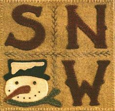 Wool & Needle Block of the Month - February