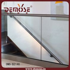 foshan high-quality indoor glass stair railings| prefab metal stair railing $30~$150