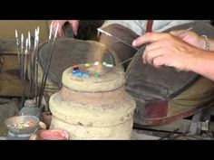 Part Two: In this video clip, the artisan produces a bead!! So many thanks to the staff of the Haithabu Museum for their commitment to education!