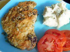 Dijon Crusted Pork Chops