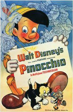 "1940 - Place 6 - ""Pinocchio"" Walt Disney"