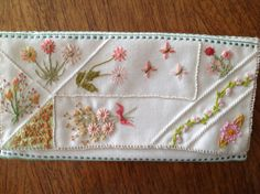 Small purse for packets of needles by Margaret Roberts