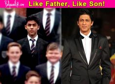 Aryan Khan looks HOT as he suits up like father Shah Rukh Khan for his high school photograph – view pic!