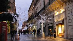 Christmas decorations at La Valletta