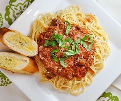 C+C Marriage Factory: Pasta Bolognese-- makes a ton, but very good