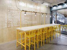 YOI Restaurant // Lomar Arkitekter via Frameweb