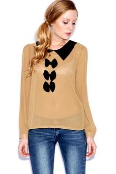 Sonia Bow Blouse