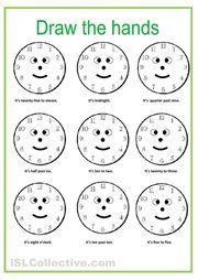 Telling Time Worksheets - o'clock worksheet 2   Teaching Kids To ...