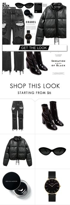 """""""x"""" by livingonvee on Polyvore featuring Alexander Wang, Vision, White Label and CLUSE"""