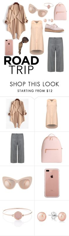"""""""Road tripping in plus size style"""" by djarragul ❤ liked on Polyvore featuring WearAll, Elena Mirò, Ted Baker, Belkin and Michael Kors"""