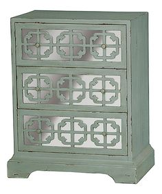 Look at this Gray Accent Dresser on #zulily today!