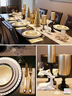 How To Style Your Holiday Dining Table 3 Ways