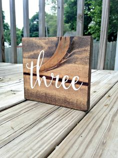 Wood Table Numbers Wooden Table Numbers by WoodenThatBeSomethin