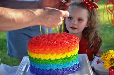 mum with kids birthday cake - Google Search