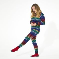 Primary's first-ever adult styles! Shop soft cotton pajama pants for men and women, in two vibrant rainbow colorways. Perfect for the whole family to match! Family Holiday Pajamas, Family Pjs, Adult Pajamas, Pajamas Women, Striped Pyjamas, Cotton Pyjamas, Pajama Shirt, Pajama Top, Pajama Outfits