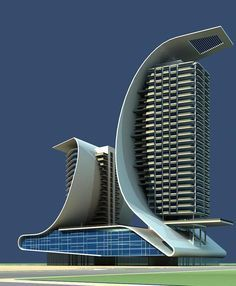 Architecture 510 Model Architektur 510 Highly detailed building model with Vray mat – # the # City # Structures Hotel Design Architecture, Modern Architecture Design, Design Hotel, Futuristic Architecture, Facade Architecture, Amazing Architecture, Stadium Architecture, Industrial Architecture, Landscape Architecture