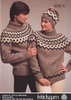Sandnes 4240 Sweater Knitting Patterns, Free Knitting, Norwegian Knitting, Viking Designs, Icelandic Sweaters, Top Pattern, Drops Design, Knit Crochet, Twists