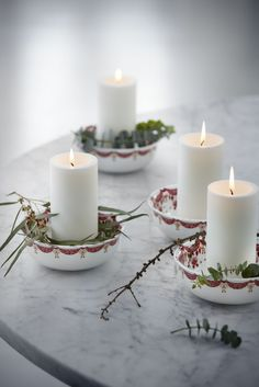 Christmas bowls by Bjorn Wiinblad Christmas Bowl, Christmas Holidays, Merry Christmas, Christmas Decorations, Candle Lanterns, Pillar Candles, Scandinavian Candles, Dec 2016, Candle Holders