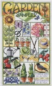 cross stitch garden - Google Search