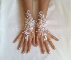 Hey, I found this really awesome Etsy listing at https://www.etsy.com/uk/listing/167221134/free-ship-wedding-gloves-or-barefoot