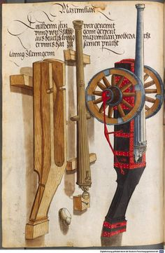 Zeugbuch Kaiser Maximilians I Innsbruck, um 1502 Cod.icon. 222  Folio 51v