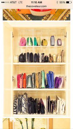 Purses closet