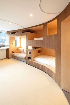 "neat use of space - bedroom ""cubbies"""