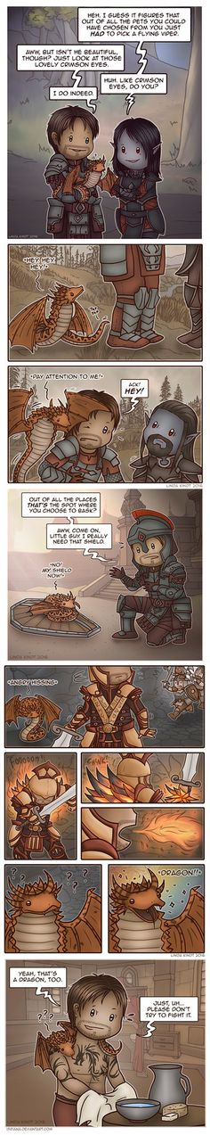 TESO: Adventures of Davius and Snek pt. 2 by Isriana on DeviantArt