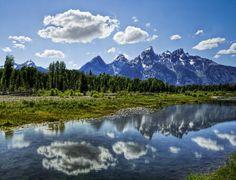 Grand Tetons, Jackson Hole, Wyoming