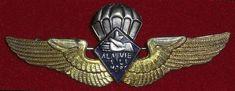 Brevet parachutiste des éléments terre du commando SAS B