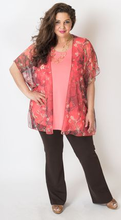 I want to wear this mesh kimono every day! Blue Sky Clothing Co