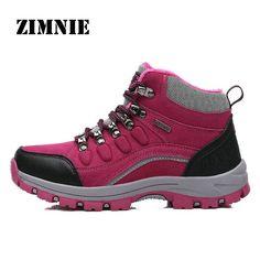 Zapatillas de Monta/ña para Hombres Zapatos de Senderismo Calzado de Trekking Escalada Aire Libre Zapatos Low-Top Impermeable Antideslizante Zapatos de Trekking