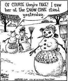 snowman lol FAKE