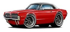 1968 Mercury Cougar 302 HP 4S