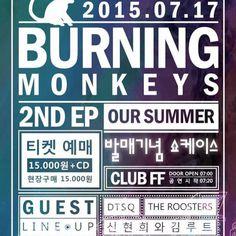 『#버닝몽키즈 2nd ep발매 기념 쇼케이스』 Burning Monkeys 2nd ep OUR SUMMER  게스트 #DTSQ #THEROOSTERS #더루스터스 #신현희와김루트  07. 17. @클럽FF  —————————————– 글로벌 소셜 뮤직 네트워크 서비스 '디오션' WWW.DIOCIAN.COM  #감성 #인디 #공연 #불금 #공연 #라이브 #콘서트 #페스티벌 #어쿠스틱 #여름날 #여름 #축제 #청춘 #락페 #강남 #락 #펑크 #이태원#fun #smile #summer #theroosters#신현희와김루트#펑크#버닝몽키즈#락페#dtsq#더루스터스#이태원#강남#청춘#축제#락#감성#인디#여름#불금#공연#라이브#콘서트#페스티벌#어쿠스틱#여름날#smile#fun#funny#summer#lol#life#followme#beautiful