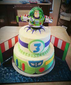Toy story buzz lightyear cake...