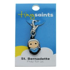 St. Bernadette Tiny Saints Charm