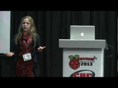 """Raspberry Jamboree 2013: Amy Mather - Conway's Game Of Life -  """"I wanted to make it do what I wanted it to do, not what the people working at Apple or Android wanted it to do""""."""