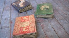 Miniature Fairy Tale Books by LDelaney on Etsy, $8.50