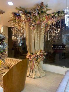 Wedding Hall Decorations, Desi Wedding Decor, Marriage Decoration, Wedding Entrance, Diy Party Decorations, Birthday Decorations, Wedding Centerpieces, Wedding Table, Floral Wedding