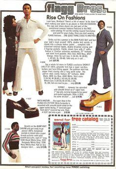 Super Fly Seventies Fashion From The Flagg Bros – Voices of East Anglia Seventies Fashion, 70s Fashion, Fashion History, Vintage Fashion, Fashion Looks, Fashion Trends, Patti Hansen, Lauren Hutton, Vintage Advertisements