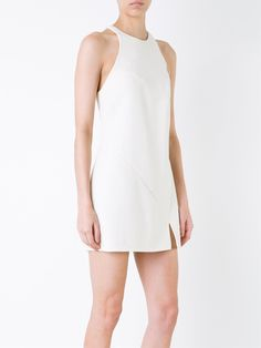 Jay Ahr gold-tone detail short dress