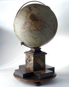 Terrestrial table globe - 1725
