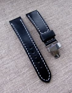 Classic watch strap Difues Leather. Width 22 mm