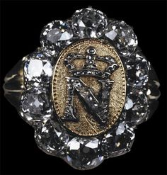 Napoléon's signet ring:  Etienne Nitot (today: Chaumet) - c. 1809