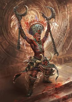 It Takes More Than a 'Tolerance' Mechanic to Make an Anti-Colonial RPG Ancient Aztecs, Ancient Art, Aztecas Art, Mayan Tattoos, Aztec Culture, Tribal Warrior, Mesoamerican, Chicano Art, Mexican Art