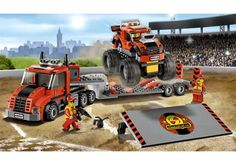 Freddie: LEGO City Town - Monster Truck Transporter by Lego Systems, Inc. - $32.95