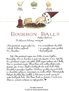 Susan's Bourbon Balls