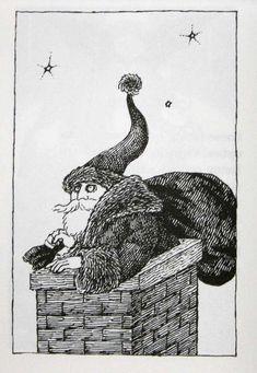 Edward Gorey y los terrores de la Navidad