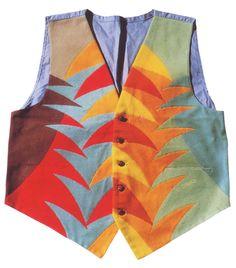 Fedele Azari's vest, 1923, 58 by 55 cm, Rome, private collect